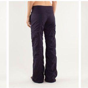 lululemon dance studio lined pants black swan 4